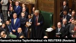 ប្រធានសភាអង់គ្លេស លោក John Bercow ថ្លែងនៅក្នុងការជជែកដេញដោលស្តីពី Brexit នៅក្នុងក្រុងឡុងដ៍ កាលពីថ្ងៃទី១៩ ខែតុលា ឆ្នាំ២០១៩។