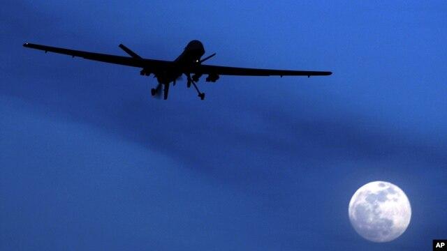 아프가니스탄 칸다하르 공군기지에서 이륙하는 미군 무인기 프레데터. (자료사진)