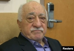 FILE - US-based cleric Fethullah Gulen, whose followers Turkey blames for a failed coup, is shown in still image taken from video, as he speaks to journalists at his home in Saylorsburg, Pennsylvania, July 16, 2016.