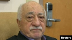 U.S.-based cleric Fethullah Gulen, whose followers Turkey blames for a failed coup, is shown in still image taken from video, as he speaks to journalists at his home in Saylorsburg, Pennsylvania, July 16, 2016.