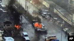 ქალაქ იზმირში, ავტომანქანაში დამონტაჟებული ბომბი აფეთქდა