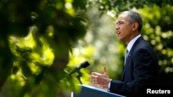 Tổng thống Obama nói về vấn đề cải cách di dân tại Vườn hồng Tòa Bạch Ốc