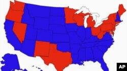 美国31个州(蓝色)将英语定为官方语言