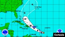La temporada de huracanes en el Atlántico comenzó el 1 de junio y se extiende hasta el 30 de noviembre.