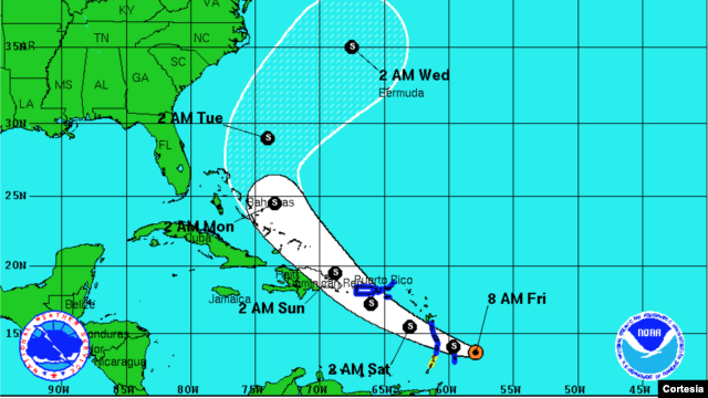 Tropical Storm Bertha Threatens Barbados and the Lesser Antilles
