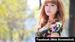 Hình ảnh được tìm thấy trên Facebook Ruby Ruby được cho là của nghi can Đoàn Thị Hương. (Ảnh: Facebook Ruby Ruby)