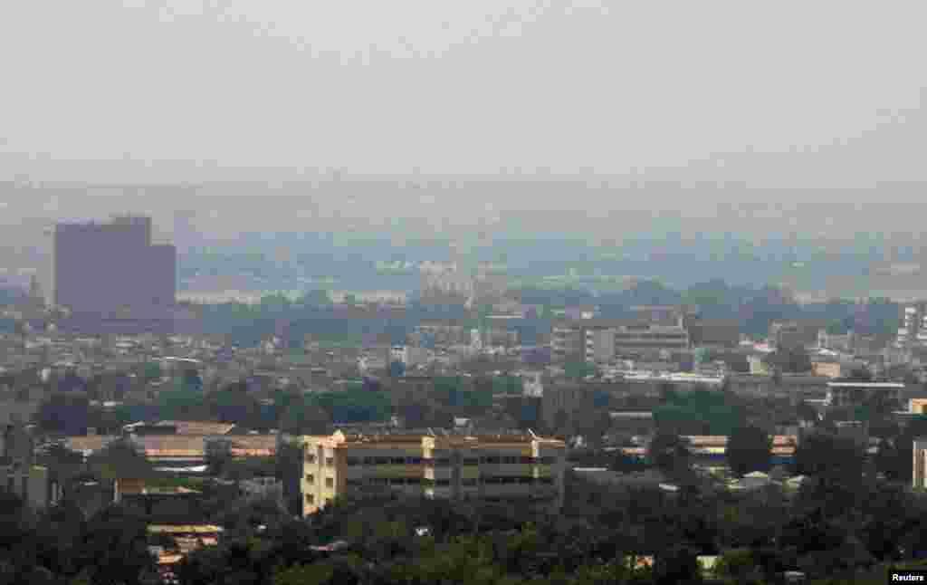 Une vue de Bamako