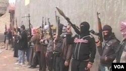 Джихадисты «Исламского государства» (ИГИЛ) в ровинции Анбар