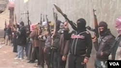 美國表示會協助伊拉克政府打擊最近佔領安巴爾省和費盧杰民居的武裝分子時。