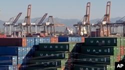 美國洛杉磯港口(2015年2月12日)