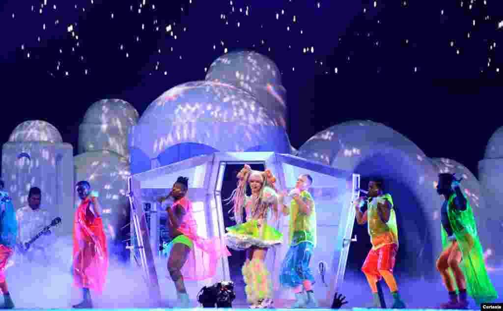 Lady Gaga de gira por Estados Unidos.