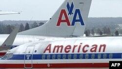 "Avioni ""Amerikan Erlajnza"" na pisti na vašingtonskom nacionalnom aerodromu"