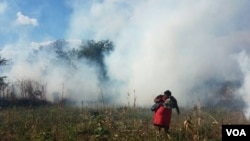Teargas in rural Lupane District ...
