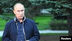 俄罗斯总统普京8月31日对记者发表谈话