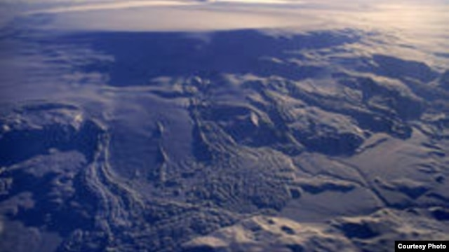 FILE - This image from the Icelandic Met Office shows Bardarbunga, Vatnajökull ice-cap, in 1996.