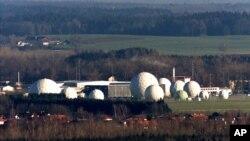 Instalaciones de la NSA en las cercanías de Bad Aibling, en Alemania.