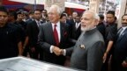 Thủ tướng hai nước Malaysia và Ấn Độ gặp gỡ (ảnh tư liệu, 2015)