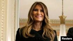 Phu nhân của Tổng thống tân cử Donald Trump, Melania Trump.
