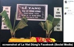 Lễ tang ông Lê Đình Kình, thiệt mạng trong vụ cảnh sát đột kích vào Đồng Tâm, diễn ra hôm 13/1/2020