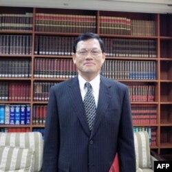 台湾外交部副发言人 章计平