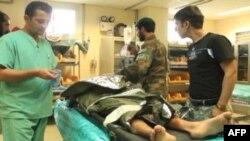В госпитале Кандагара