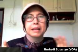 Suraiya Kamaruzzaman, Presidium Balai Syura Ureung Ining, Aceh. (Foto: VOA/Nurhadi)