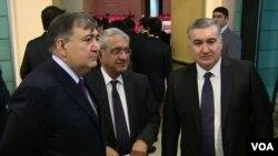 Hafiz Paşayev, Fazil Məmmədov və Elin Süleymanov
