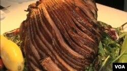 버지니아의 특산물, 쫄깃쫄깃 햄