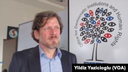AGİT Demokratik Kurumlar ve İnsan Hakları Bürosu sözcüsü Thomas Rymer