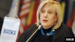 Dunja Mijatović, predstavnica OEBS-a za medije