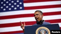 Tổng thống Mỹ đang bị chỉ trích vì đã không tỏ ra quyết liệt, bởi vì trước đây ông đã từng nói, khi nào chính phủ Syria sử dụng vũ khí hóa học thì coi như họ đã vượt 'lằn ranh đỏ'