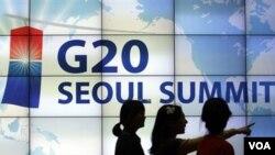 Prezidan Obama Rive Sewoul, Kore di Sid, Pou Somè G-20 an