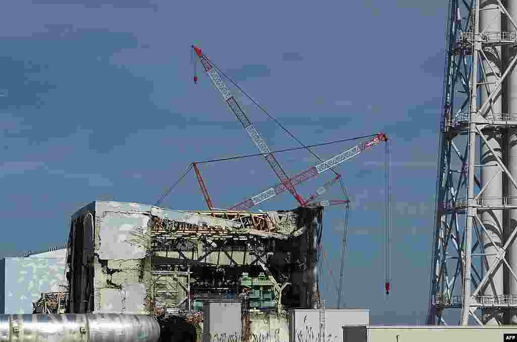 Четвертый энергоблок АЭС «Фукусима-Дайчи». 12 ноября 2011 г.