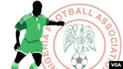 Illustration d'un footballeur Nigerian