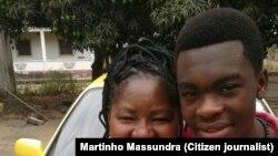 Jovem vota pela primeira vez na Matola.