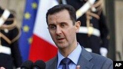 Le President Syrien, Bashar al-Assad.