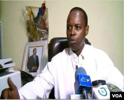 Dr. Muhamadou Hassini, director of the Ngaoundere hospital Ngaoundere, Cameroon, April 9, 2019. ( M. Kindzeka/VOA)