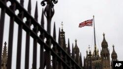 영국 런던의 의회 건물 (자료사진)