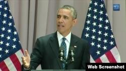 سخرانی باراک اوباما رئیس جمهوری آمریکا در دانشگاه آمریکن درباره توافق اتمی با ایران - ۱۴ مرداد ۱۳۹۴
