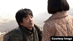 2014 북한인권국제영화제 상영작 중 하나인 영화 '신이 보낸 사람'의 한 장면. 출처: 북한인권국제영화제 공식 페이스북.