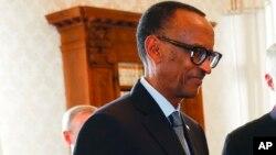 Le président Paul Kagame, 20 mars 2017.