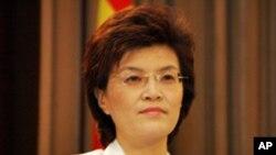 中国外交部发言人姜瑜(资料照片)