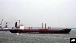 The MV Theresa VIII chemical tanker in Kakinada, India on 9 June 2007 (file photo)