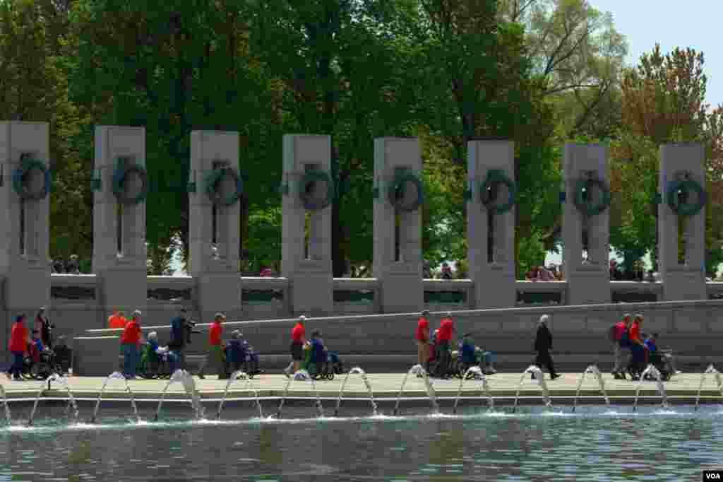 Национальный мемориальный комплекс ветеранов Второй мировой. Ветераны