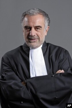 International Criminal Court. Chief Prosecutor Louis Moreno Ocampo