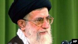 Iranian supreme leader Ayatollah Ali Khameni (file photo)