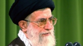 Iranian supreme leader Ayatollah Ali Khameni (file photo)