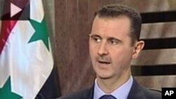 تقاضای رئیس جمهور روسیه از بشار الأسد مبنی بر ترک قدرت