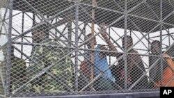 Des pirates somaliens jugés aux États-Unis, le 9 juillet 2012.