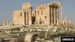 Wurin ibada mai mai dimbin tarihi da ISIS ta rusa a Palmyra cikin Syria